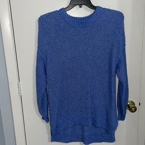 Blue oversized sweater for American Eagle